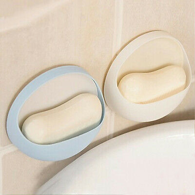 New Wall Toothbrush Suction Cup Toothpaste Soap Dishes Holder Organizer Bathroom