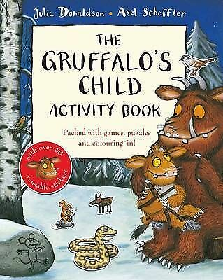 The Gruffalo's Child Activity Book by Julia Donaldson (Paperback, 2009)