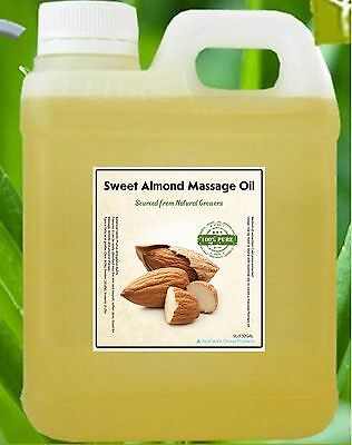 5L 100% Natural Sweet Almond Masage Oil/Price Reduced