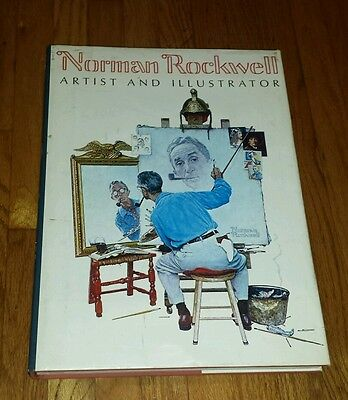 Norman Rockwell Artist and Illustrator Large Coffee Table Book Collection