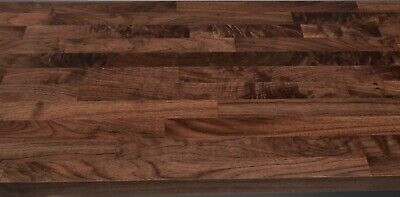Bathroom Vanity Timber Bench Tops Walnut sizes avail 600 750 900 1200 1500 1800
