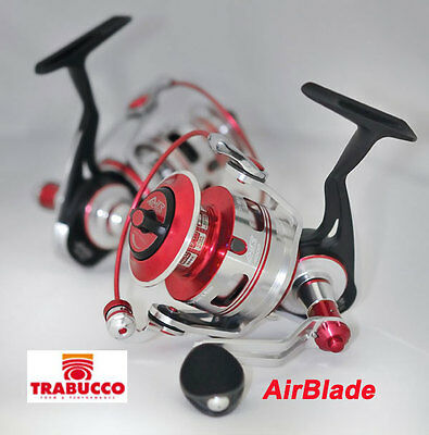 Trabucco AirBlade Spinning Reel 3 sizes .Hi tec quality build   Sealed body