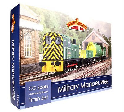 Bachmann 'oo' 30-130 Military Manoeuvres Train Set Brand New & Boxed