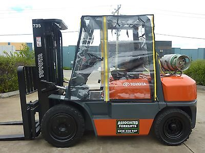 Heavy Duty Full Forklift Cab Enclosure Cover Clear Vinyl Universal Standard Size