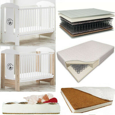 Baby Cot Bear On The Moon Selection Of Colours And Mattresses The Best Price