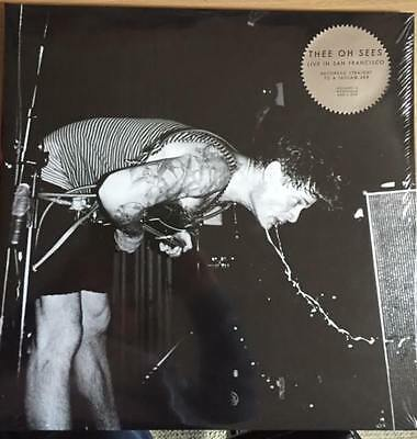 Thee Oh Sees Live In San Francisco Vinyl 2 Disc With Dvd & Download New Sealed