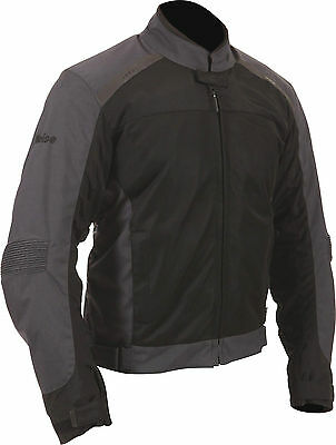 Weise Mens Air Spin Evo Black Waterproof Textile Motorcycle Jacket New RRP £130!