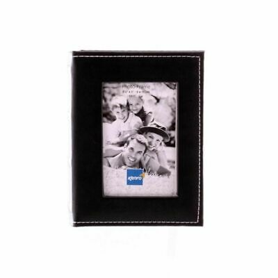 Carlton Mini Max Black 6x4 Slip In Photo Album - 80 Photos