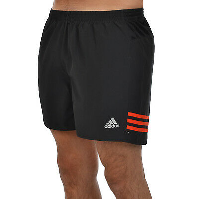 adidas Performance Mens Response 5 Inch Running Shorts - Black