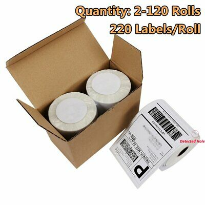 2-120 220/Roll DYMO 4XL Direct Thermal Shipping Labels 4x6 1744907 compatible
