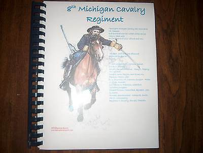 Civil War History of the 8th Michigan Cavalry Regiment