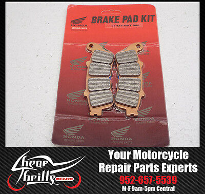 REAR Brake Pads FA261 Honda VFR800/ABS 02-07 OEM