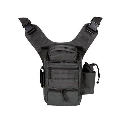 VooDoo Tactical Padded Concealment Bag Black with Exterior Pockets 15-045701000