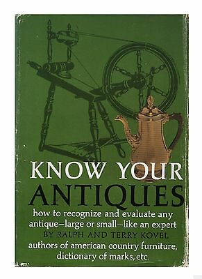 Know Your Antiques (Hardcover 1970) by Ralph & Terry Kovel