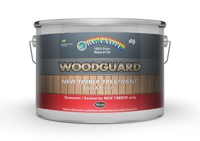 Organoil Woodguard Exterior Oil Timber protector great for the new deck 10 litre