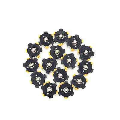 14Pcs Golf Shoe Spikes Sports Replacement Champ Cleat Screw Twist Foot