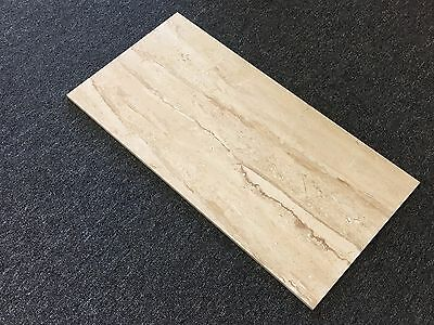 TRAVERTINE 300mm x 600mm GLOSS WALL TILE - GREAT FOR BATHROOMS