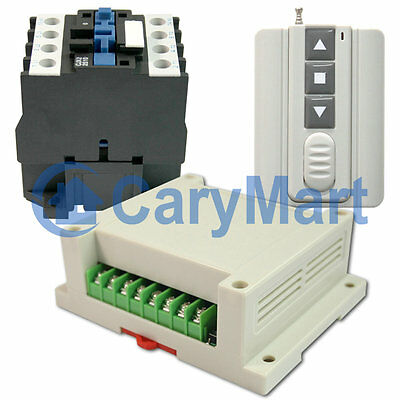 2 Channel 315MHz / 433MHz Relay output Only Can Control AC380V Motor