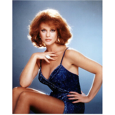 Ann-Margret Seated in Blue with Hand on Chest 8 x 10 inch photo