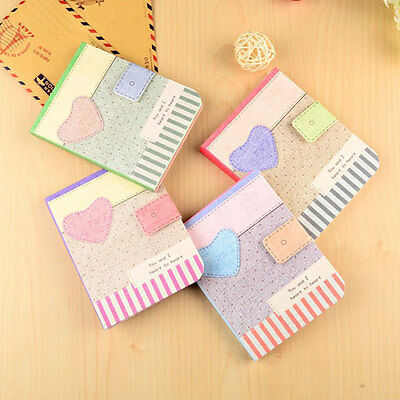 Cute Colorful Hardback Notepad Notebook Writing Paper Stationery Gifts