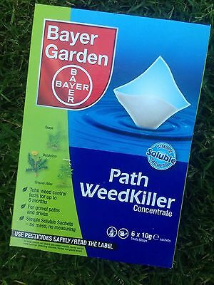 Brand New Bayer Advanced Path Weedkiller Concentrate 60gm 6x10g sachets