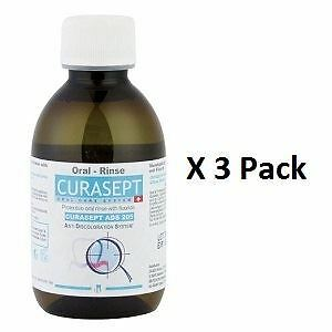 Curasept Mouthrinse 0.05% 200ml x 3 Pack