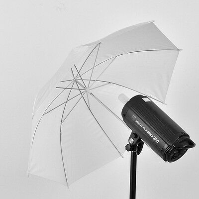 "Durable Camera 33"" 83cm Inch Translucent Photo Studio Video flash Soft Umbrella"