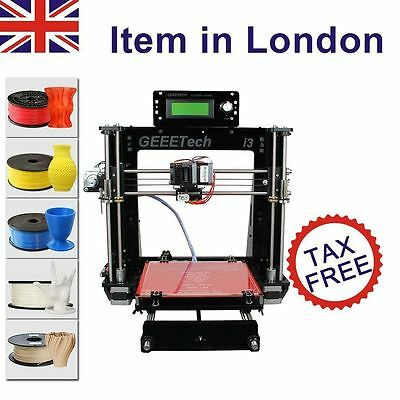 Ship from London 2017 New upgraded Geeetech Prusa I3 Pro B 3d printer MK8 GT2560