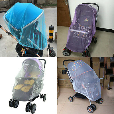 Baby Nursery Bed Crib Canopy Inflatable Mosquito Net Netting Safe Stroller Cover