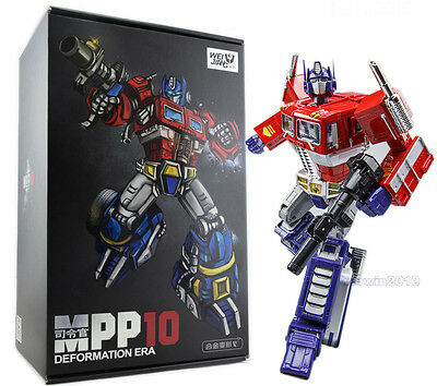 33CM Transformers Devastator Metal Part KBB MP10 Optimus Prime Figure With Box
