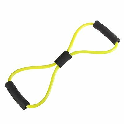 Yoga Resistance Bands Tube Stretch Fitness Pilates Exercise Tool SH