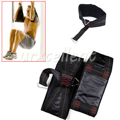 Abdominal Ab Sling Strap Hanging Chin Sit Up Bar Pullup Exercise Fitness Workout