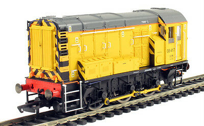 Hornby 'oo' R3261 Class 08 'network Rail' 08417 Diesel Shunter Loco New Boxed