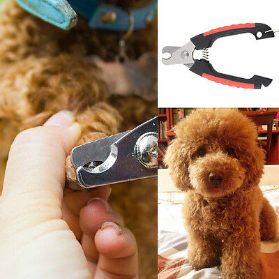Hot Dog Cat Puppy Pet Nail Toe Clipper Grooming Claw Cutter Trimmer Scissors NR