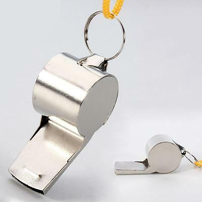 Football Soccer Sports Referee Metal Whistle Emergency Survival Safety Whistles