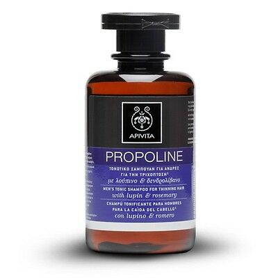Apivita Propoline Tonic Shampoo Thinning Hair for Men,250ml