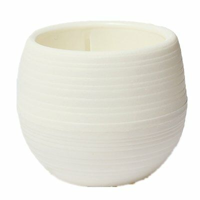 Pots for Flower Plant Home Office Decor Storage Water Creative White SH
