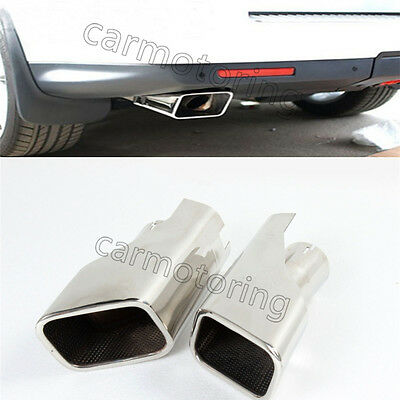 2 Pcs Rear stainless exhaust pipe Fit for LR Range Rover Sport 2005-2009