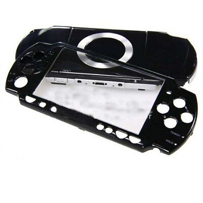 Full Housing Kit Replacement Case for Sony PSP 2000 - black SH