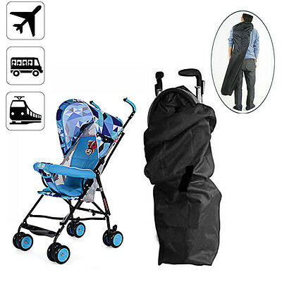 Gate Check Umbrella Stroller Pram Pushchair Buggy Car Plane Travel Bag Cover