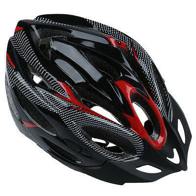 JSZ Sports Bike Bicycle Cycling Safety Helmet with Visor Adult Red SH