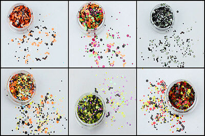 Halloween Glitter Mixes Face, Body, Fancy Dress, Clubbing, Trick or Treat, Party