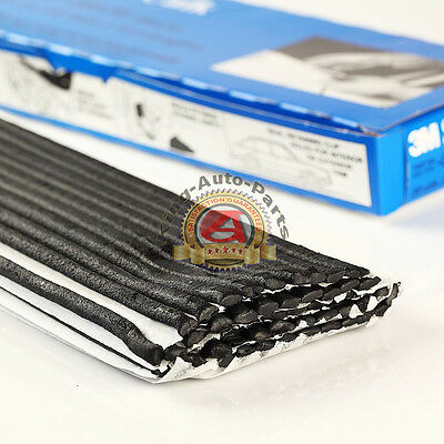 3M 8578 Black Strip Calk (60 FT) 1 Foot Lengths 08578 Free Shipping New