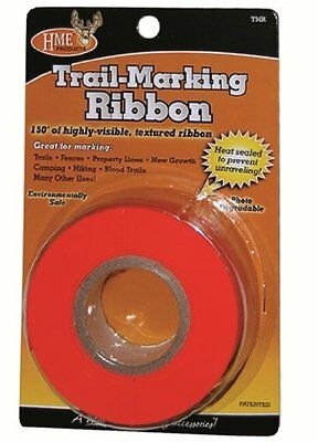 HME Products Trail Marking Ribbon Marker 150' Orange High Visible NEW TMR