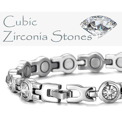 Strong Magnetic Bracelets for Ladies Womens Holistic Arthritis Pain Therapy-css