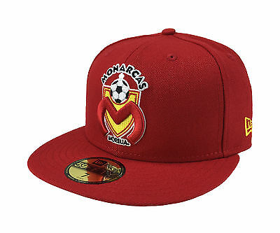 finest selection 9567d 076d6 ... coupon code new era 59fifty cap monarcas morelia mexican soccer league  red black fitted hat d2b08