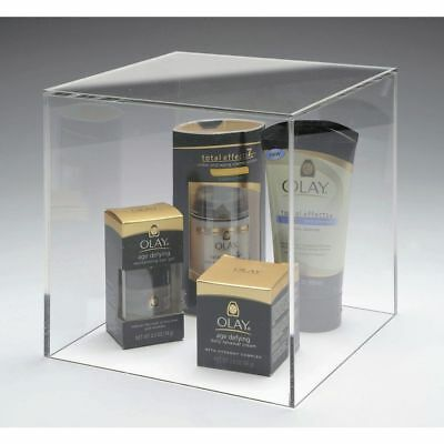 8 by 8 Acrylic Display Cube, 12251
