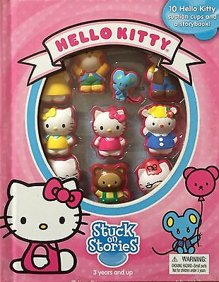 HELLO KITTY Stuck on Stories 10 Character Toys Story Book