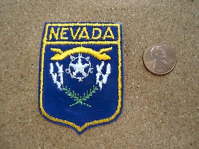 Vintage Nevada State Patch New Old Stock