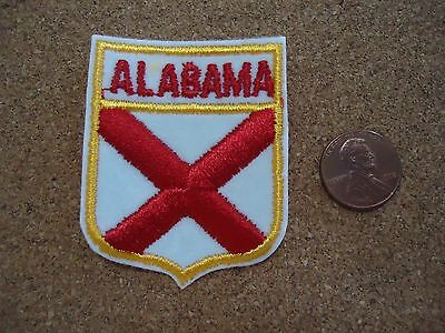 Vintage Alabama State Patch New Old Stock